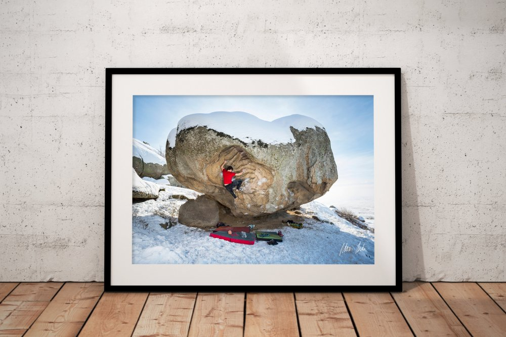 Bouldering in Prilep - Print format: Large (1200 mm longer side), Print with signature: Signed by Adam, Download format: Small (2000 px longer side)